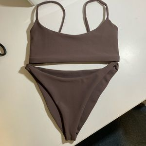 Handmade gorgeous brown bikini!!